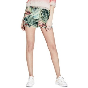 【SALE 50%OFF】ゲス GUESS TATIANA PAPERBAG SHORT (SUNSET PALMS DESERT SAGE)