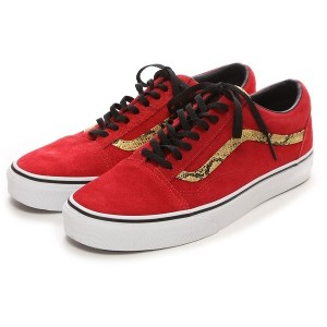 ヴァンズ VANS CHAPTER OLD SKOOL(RED/SNAKE) メンズ