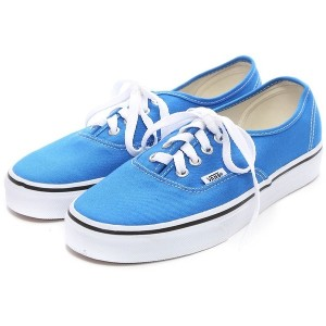 ヴァンズ VANS CHAPTER AUTHENTIC(BLUE) レディース