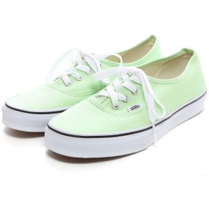 ヴァンズ VANS CHAPTER AUTHENTIC(LIGHT GREEN) レディース