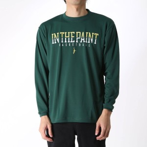 【SALE 20%OFF】インザペイント IN THE PAINT バスケットボール 長袖Tシャツ DIV I LONG SLEEVE SHIRTS ITP16504