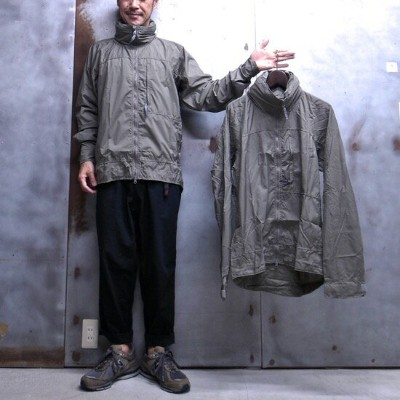 【 BEYOND CLOTHING 】 L4 WIND JACKET 米軍 アメリカ軍 デッドストック ミリタリー ジャケット ナイロン ジャケット MADE IN THE U.S.A. サイズ[M]