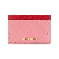Miu Miu card holder - ピンク&パープル