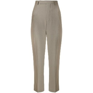 Rick Owens cropped tailored trousers - グレー