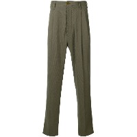 Vivienne Westwood pleated trousers - グリーン