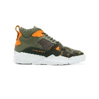 Filling Pieces low-top camouflage sneakers - グリーン