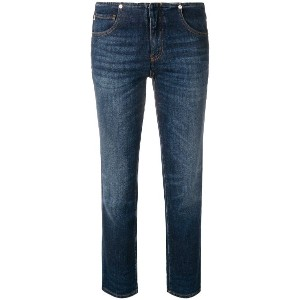 Love Moschino mid rise jeans - ブルー