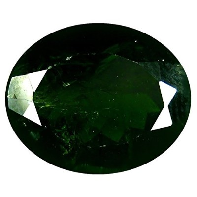 クロームディオプサイド ルーズジェームズ 5.51 ct Oval Shape (12 x 10 mm) Green Russian Chrome Diopside Genuine Gemstone