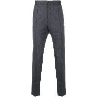 Z Zegna tapered trousers - グレー