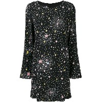 Boutique Moschino cosmic print dress - ブラック