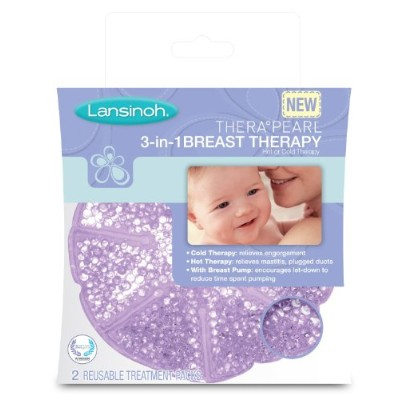 Lansinoh TheraPearl 3-in-1 Breast Therapy (Pack of 2) by Lansinoh