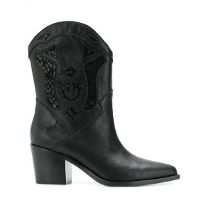Pinko cowgirl ankle boots - ブラック