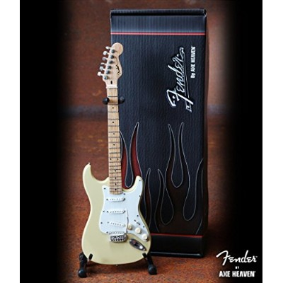 AXE HEAVEN Cream Fender™ Strat™ Miniature Guitar Replica - Officially Licensed [並行輸入品]