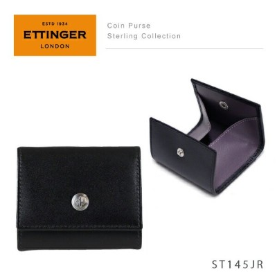 【LaG After SALE 開催中】【送料無料】【並行輸入品】『Ettinger-エッティンガー-』Coin Purse Sterling Collection〔ST145JR〕[...