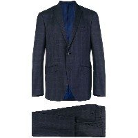Etro two-piece check suit - ブルー