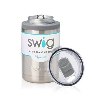 Swig 350ml Combo Cooler-Stainless Steel