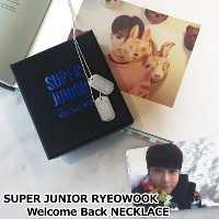 SUPERJUNIOR RYEOWOOK Welcome Back! NECKLACE 「SUM」