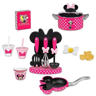 Disney(ディズニー) Minnie Mouse Gourmet Cooking Set ミニー・マウスのグルメクッキングセット 【並行輸入品】