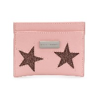 Stella McCartney star embellished cardholder - ピンク