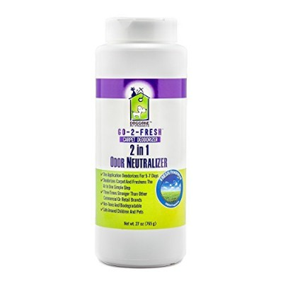 Carpet Deodorizer, Odor Neutralizer & Room Air Freshener by Doggone Pet Products - Neutralizes...