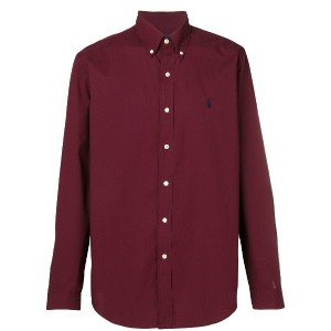 Polo Ralph Lauren embroidered logo shirt - レッド