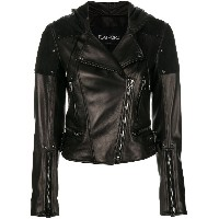 Tom Ford zipped biker jacket - ブラック