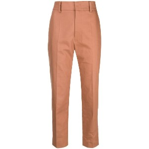 Sofie D'hoore Prior cropped trousers - ブラウン