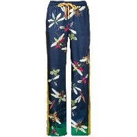 F.R.S For Restless Sleepers printed straight-leg trousers - ブルー