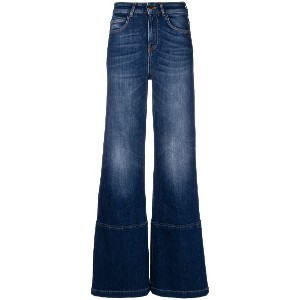 L'Autre Chose flared style jeans - ブルー