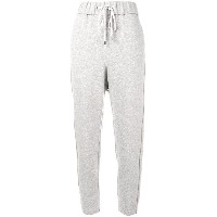 Peserico loose fitted track trousers - グレー