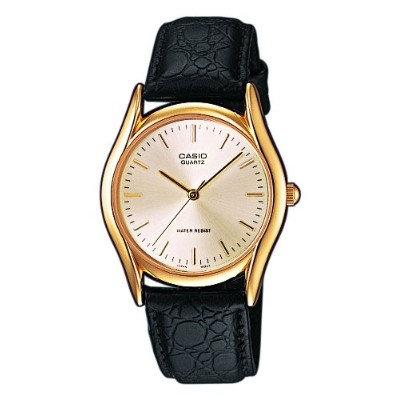 Wristwatch Casio Vintage Mtp-1154-7A Leather Time