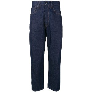 Levi's: Made & Crafted Greaser straight leg jeans - ブルー