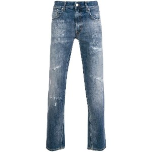 Department 5 Corkey cropped jeans - ブルー