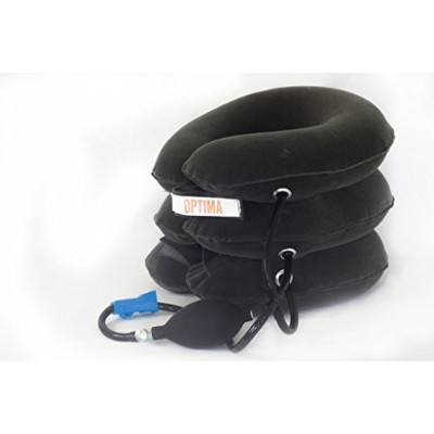 Comfortable Inflatable Cervical Neck Traction Device - For Ultimate Relief Of Headache Shoulder...