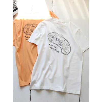 【SALE/44%OFF】coen HAWAII MAP Tシャツ コーエン カットソー【RBA_S】【RBA_E】