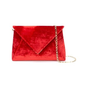 Tyler Ellis Lee Pouchet small clutch - レッド