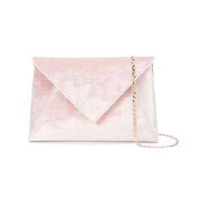 Tyler Ellis Lee Pouchet large clutch - ピンク