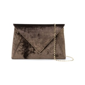 Tyler Ellis Lee Pouchet large clutch - ブラウン
