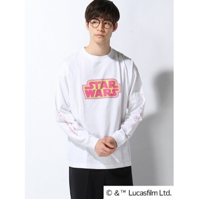 【SALE/50%OFF】GLOBAL WORK (M)STAR WARSロゴTEE グローバルワーク カットソー【RBA_S】【RBA_E】