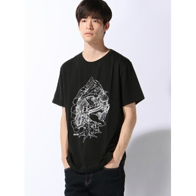 【SALE/15%OFF】WILD THINGS (M)【WILD THINGS× Daisketch】プリントT テットオム カットソー【RBA_S】【RBA_E】【送料無料】