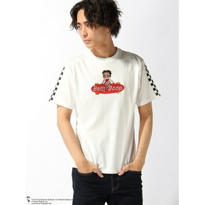【SALE/20%OFF】LOWBLOW KNUCKLE LOWBLOW KNUCKLE/(M)BOOP BOADERZ Tシャツ サンコーバザール カットソー【RBA_S】【RBA_E】【送料無料】