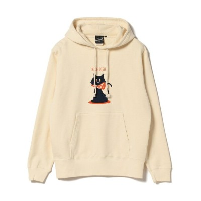 BEAMS T 【SPECIAL PRICE】BEAMS T / Shadow Graphic Sweat Parka ビームスT カットソー【送料無料】