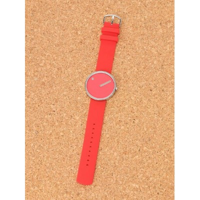PICTO (U)Watch Red×Silver ピクト ファッショングッズ【送料無料】