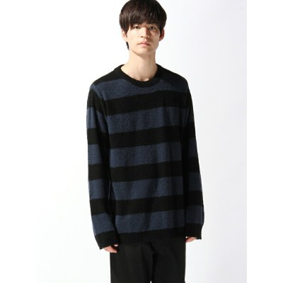 【SALE/20%OFF】NUMBER (N)INE BORDER CREW NECK SWEATER ナンバーナイン ニット【RBA_S】【RBA_E】【送料無料】