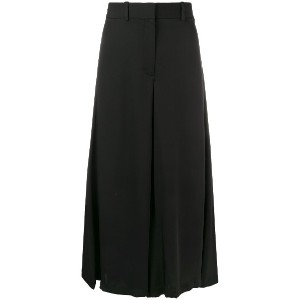 Theory cropped wide leg trousers - ブラック