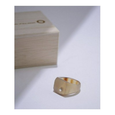 [Rakuten BRAND AVENUE]Buffalo Hom Square Ring on the sunny side of ナノユニバース アクセサリー【送料無料】