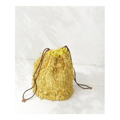[Rakuten BRAND AVENUE]【SALE/60%OFF】Shaggy drawstring bag ナノユニバース その他【RBA_S】【RBA_E】【送料無料】