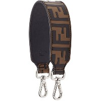 Fendi FF logo bag strap - ブラウン