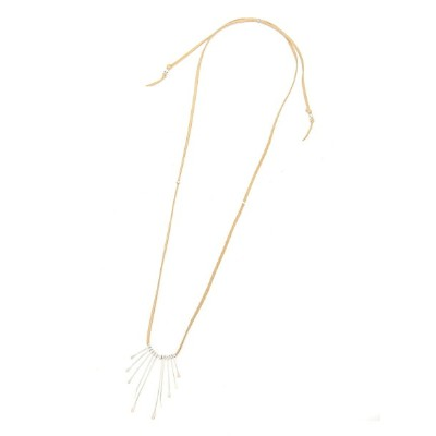 BEAMS MEN EQUALIZE / Paddle Necklace (Silver) ビームス メン アクセサリー【送料無料】