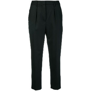 Dondup cropped tailored trousers - ブラック